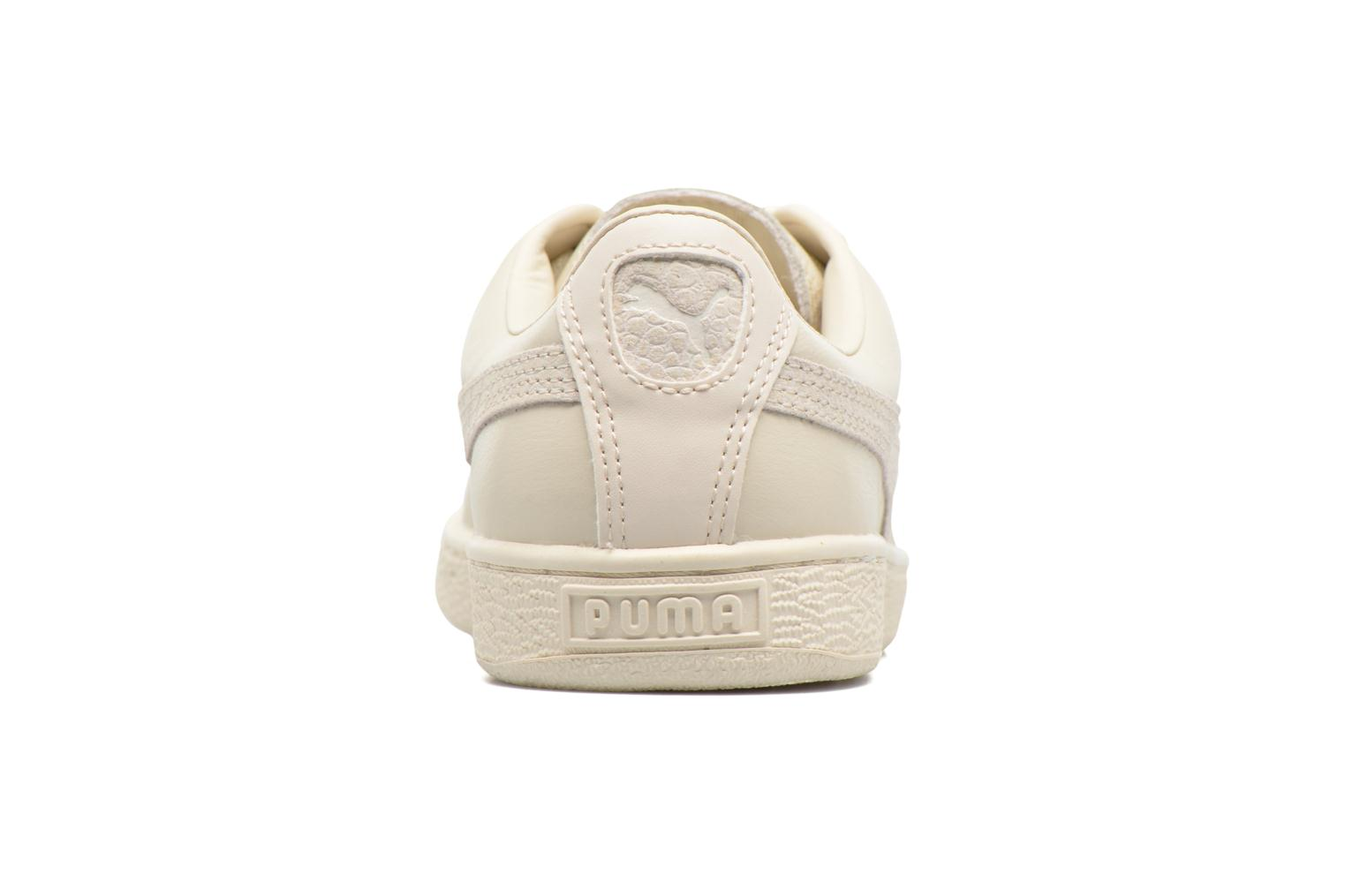 Trainers Puma Basket Classic Citi Beige view from the right