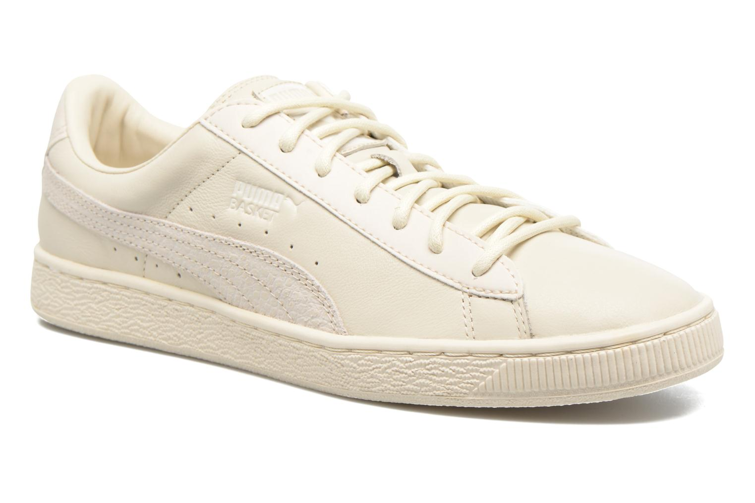 Trainers Puma Basket Classic Citi Beige detailed view/ Pair view