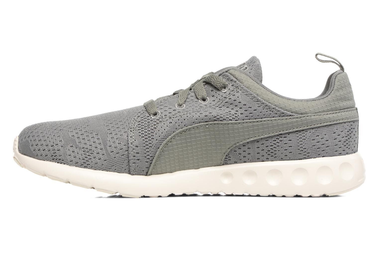 Sport shoes Puma Carson Camo Mesh Green front view