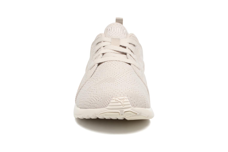 Chaussures de sport Puma Carson Camo Mesh Beige vue portées chaussures