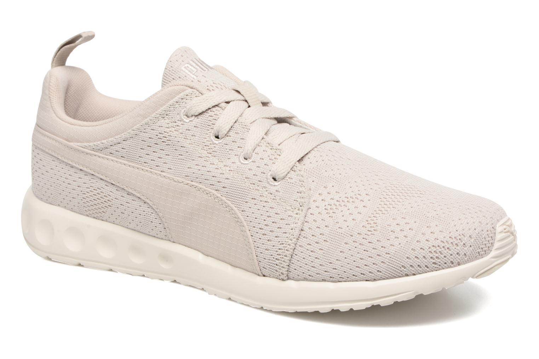 Chaussures de sport Puma Carson Camo Mesh Beige vue détail/paire