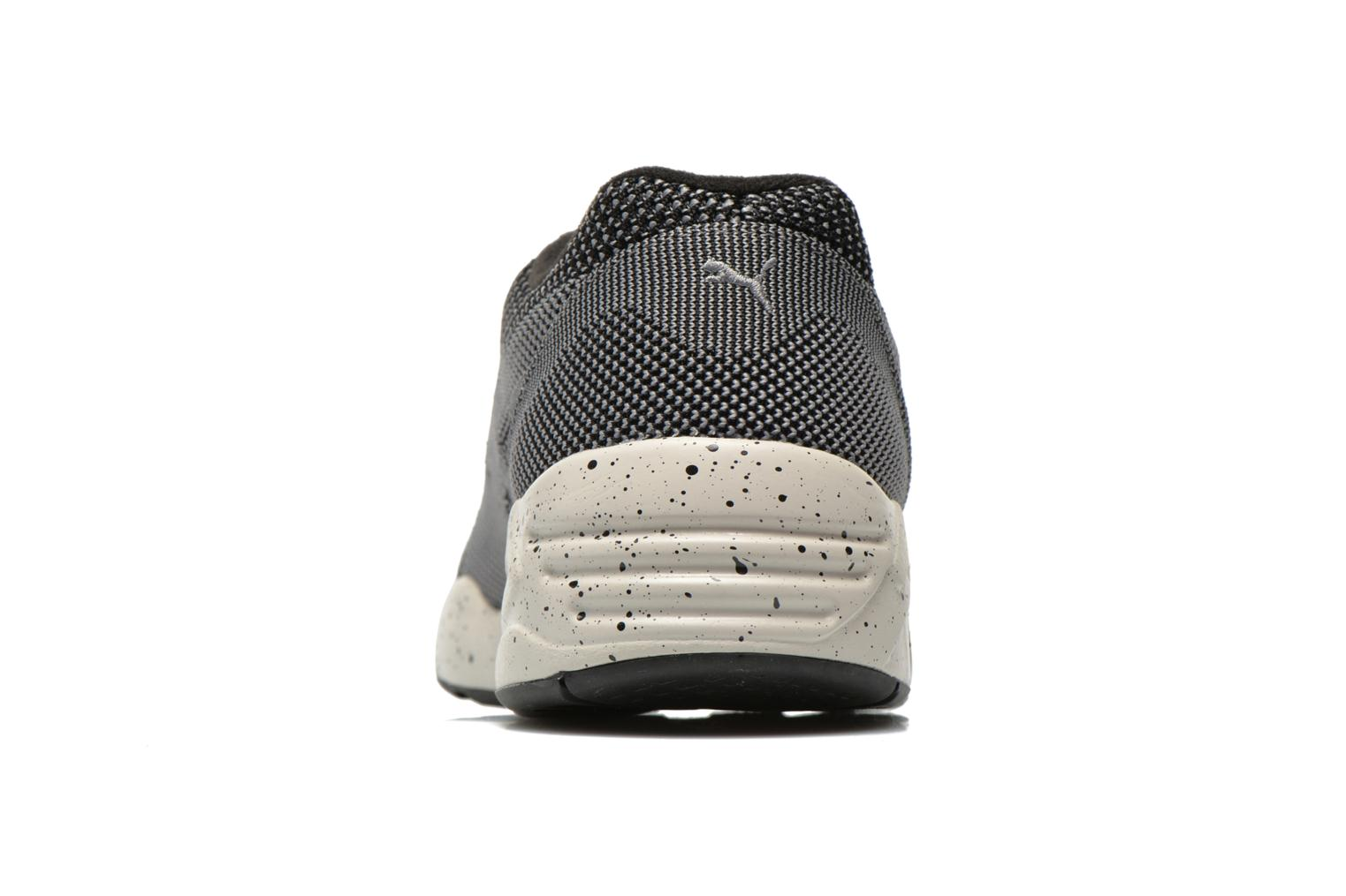 Trainers Puma R698 Knit Mesh V2.1 Trinomic Black view from the right