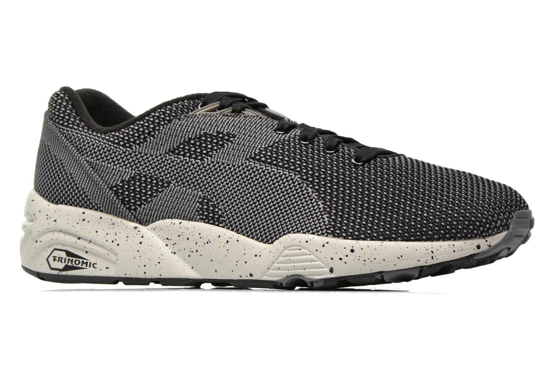 Sneakers Puma R698 Knit Mesh V2.1 Trinomic Svart bild från baksidan