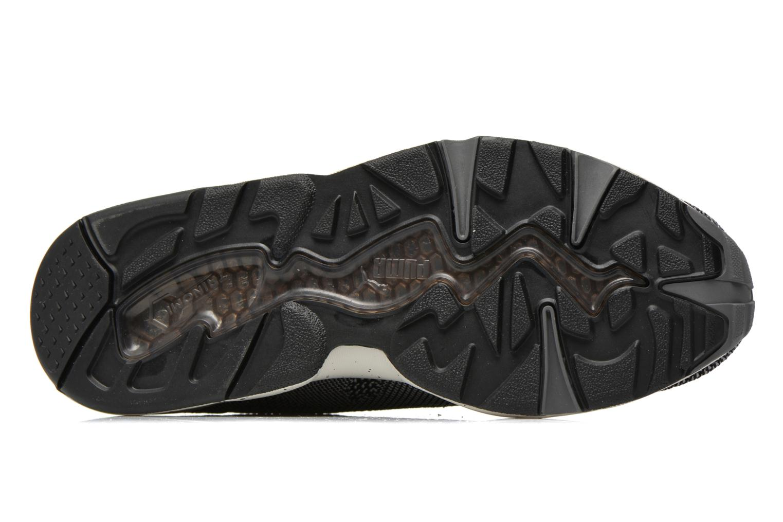 Sneakers Puma R698 Knit Mesh V2.1 Trinomic Svart bild från ovan