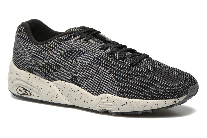 Sneakers Puma R698 Knit Mesh V2.1 Trinomic Svart detaljerad bild på paret