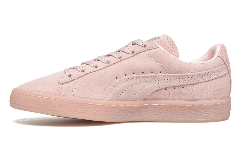 Sneaker Puma WNS Suede Mono Ref rosa ansicht von vorne