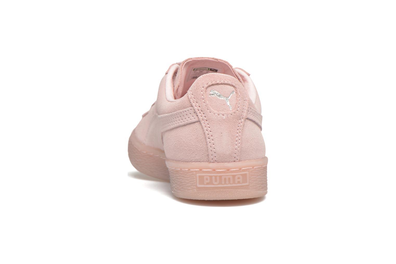 Sneakers Puma WNS Suede Mono Ref Pink Se fra højre