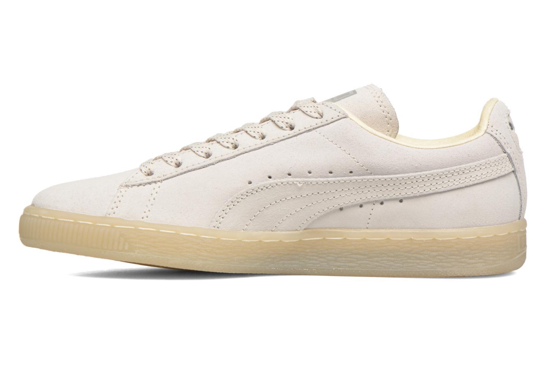 Sneaker Puma WNS Suede Mono Ref weiß ansicht von vorne