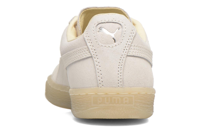 Baskets Puma WNS Suede Mono Ref Blanc vue droite