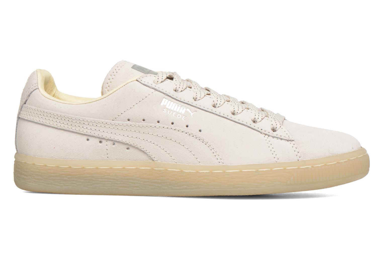 Sneaker Puma WNS Suede Mono Ref weiß ansicht von hinten