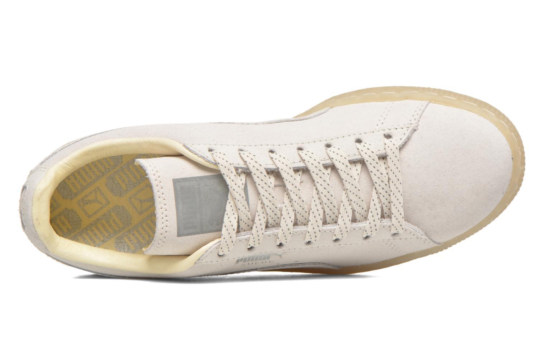 Sneaker Puma WNS Suede Mono Ref weiß ansicht von links