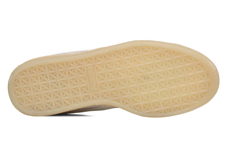 Baskets Puma WNS Suede Mono Ref Blanc vue haut