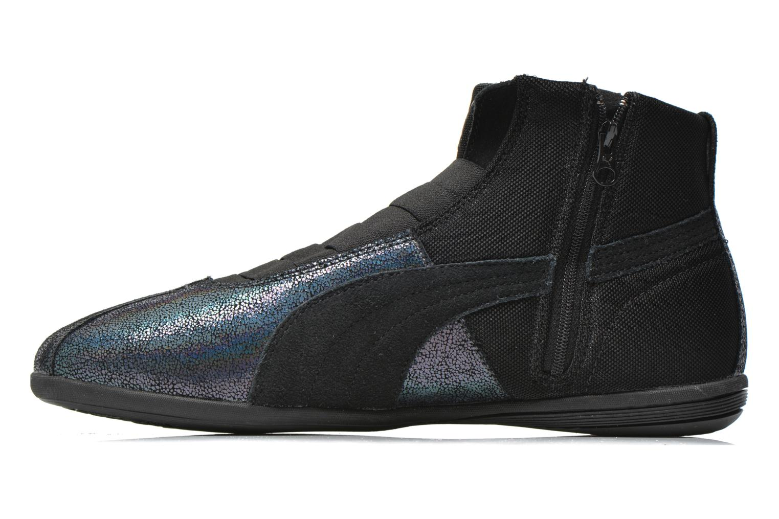 Trainers Puma WNS Eskiva Mid DS Black front view