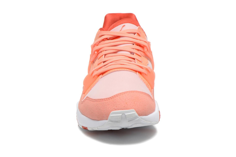 Baskets Puma WNS Blaze Filtered Trinomic Orange vue portées chaussures