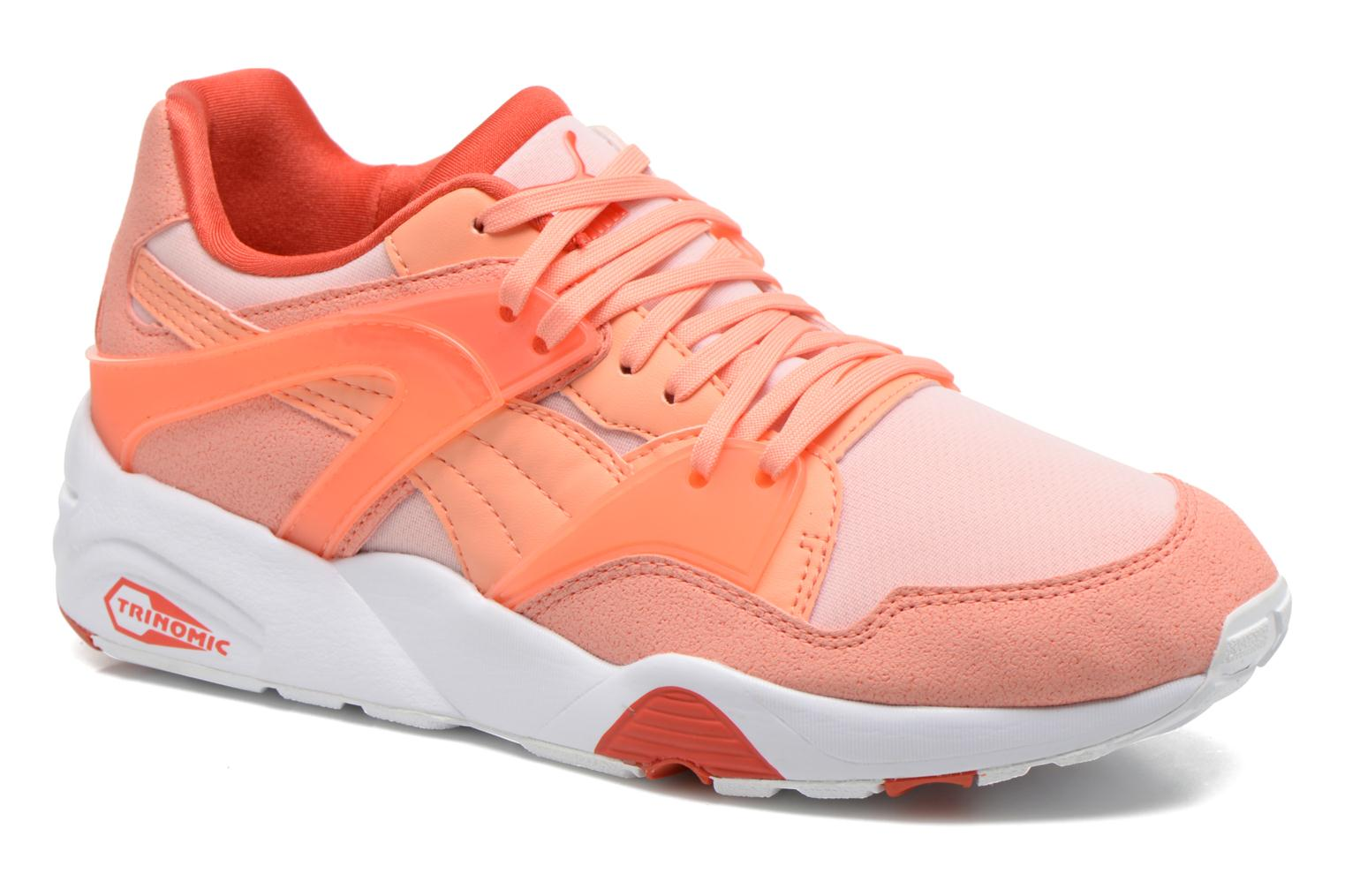 Baskets Puma WNS Blaze Filtered Trinomic Orange vue détail/paire