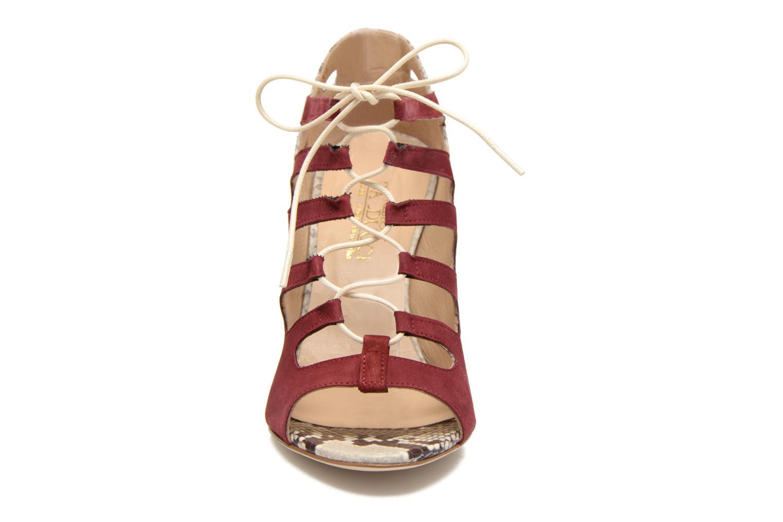 Sandales et nu-pieds Rebecca Balducci Mathilda Bordeaux vue portées chaussures