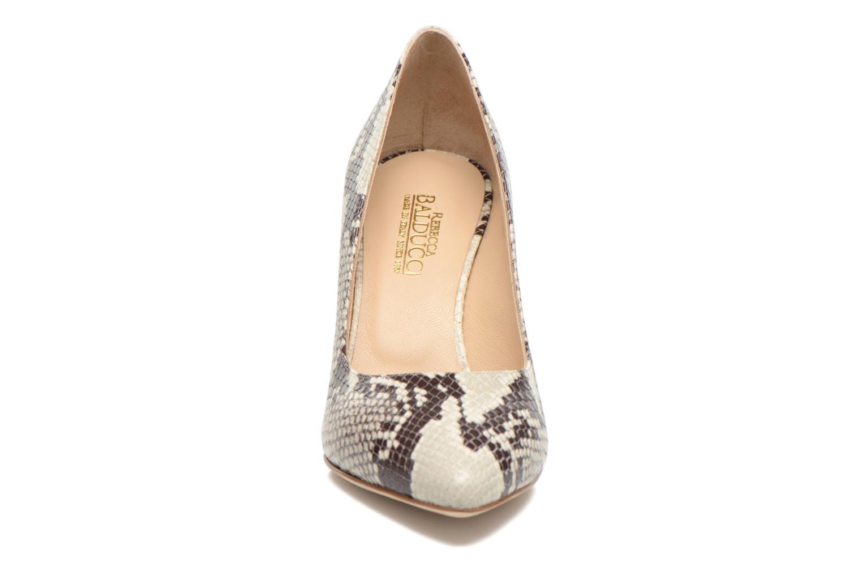 Escarpins Rebecca Balducci Auregana Bordeaux vue portées chaussures