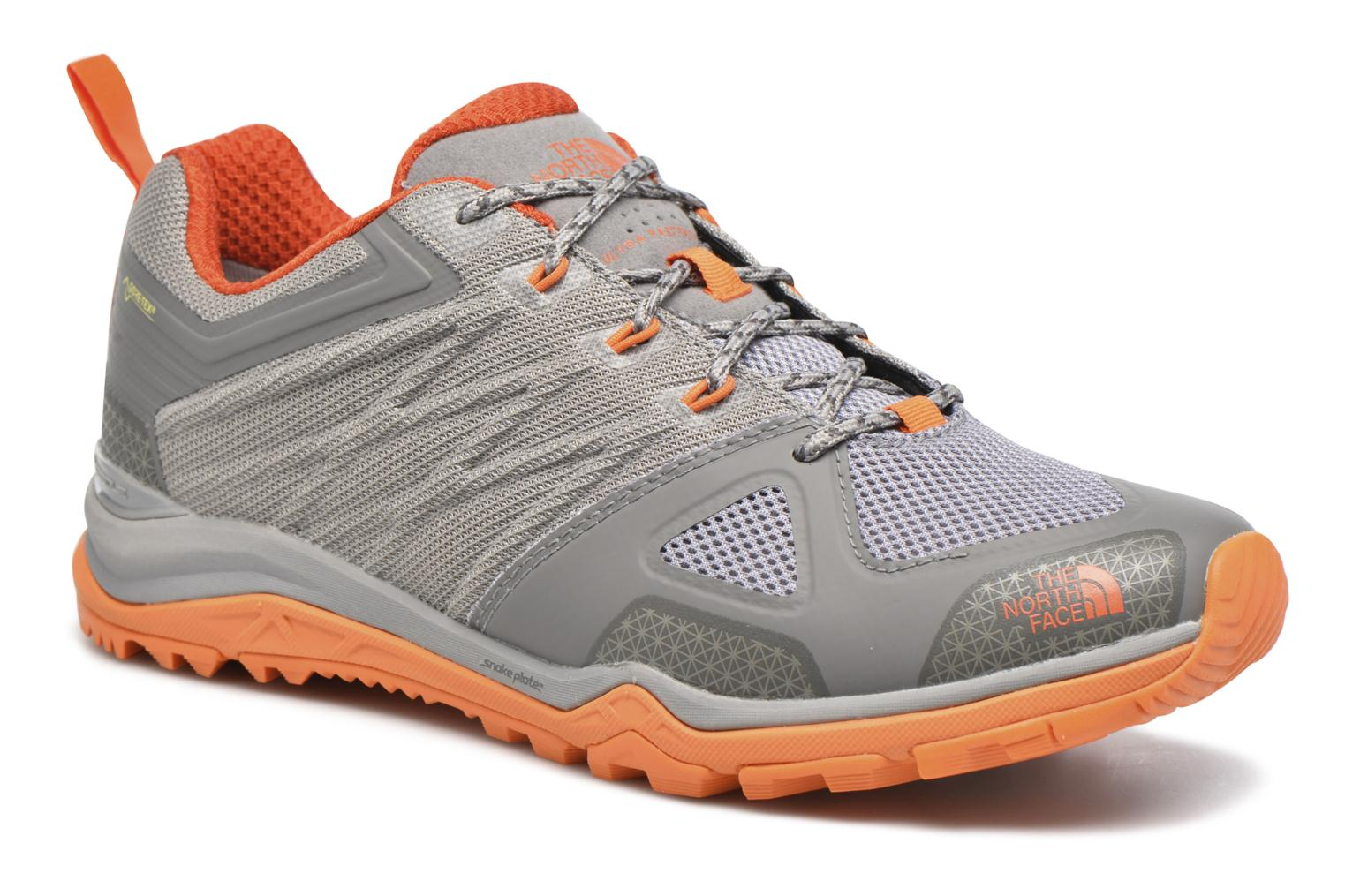 Sport shoes The North Face Ultra Fastpack II GTX Brown detailed view/ Pair view