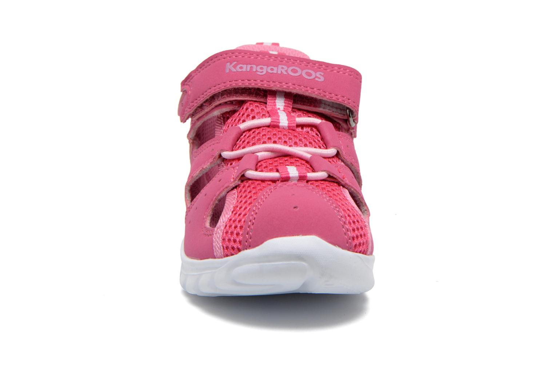 Trainers Kangaroos Rock lite Pink model view