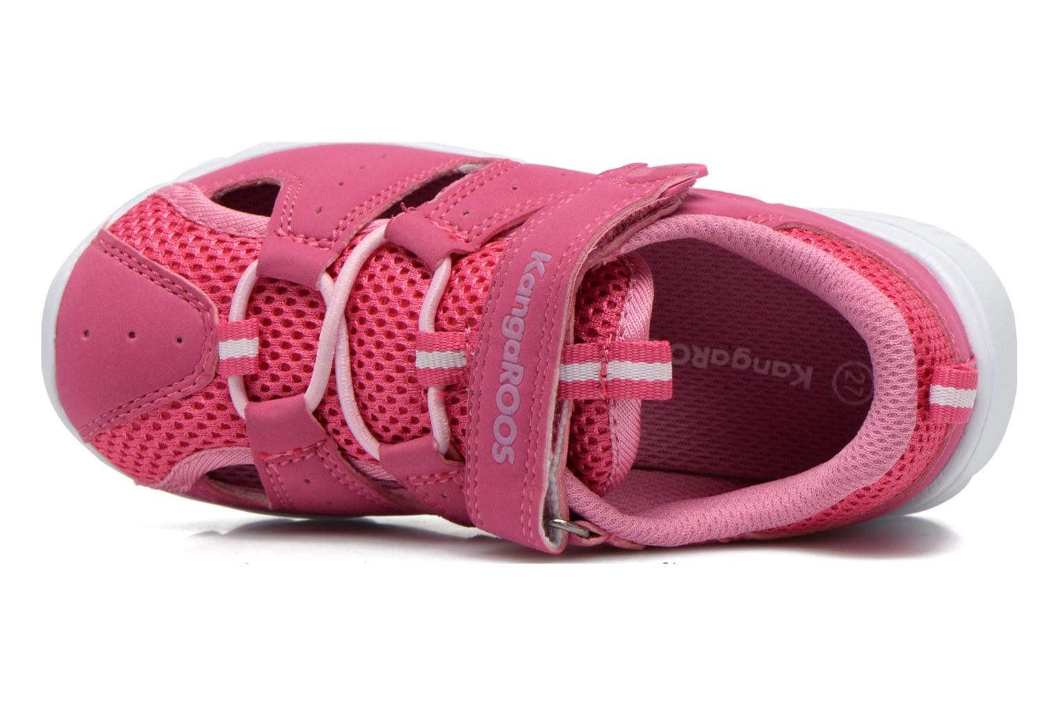Trainers Kangaroos Rock lite Pink view from the left