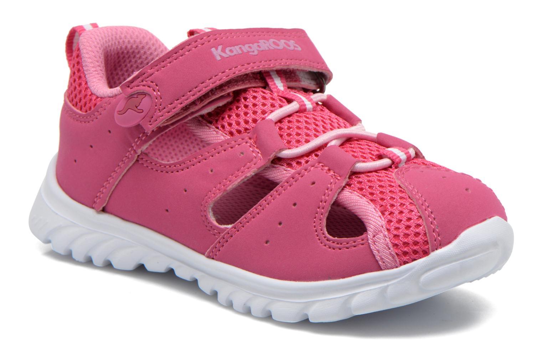 Sneakers Kangaroos Rock lite Pink detaljeret billede af skoene
