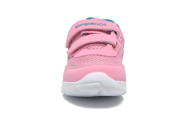 Sneaker Kangaroos Inlite 3003B rosa schuhe getragen