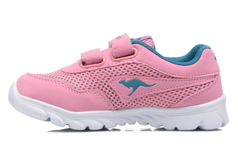 Sneaker Kangaroos Inlite 3003B rosa ansicht von vorne