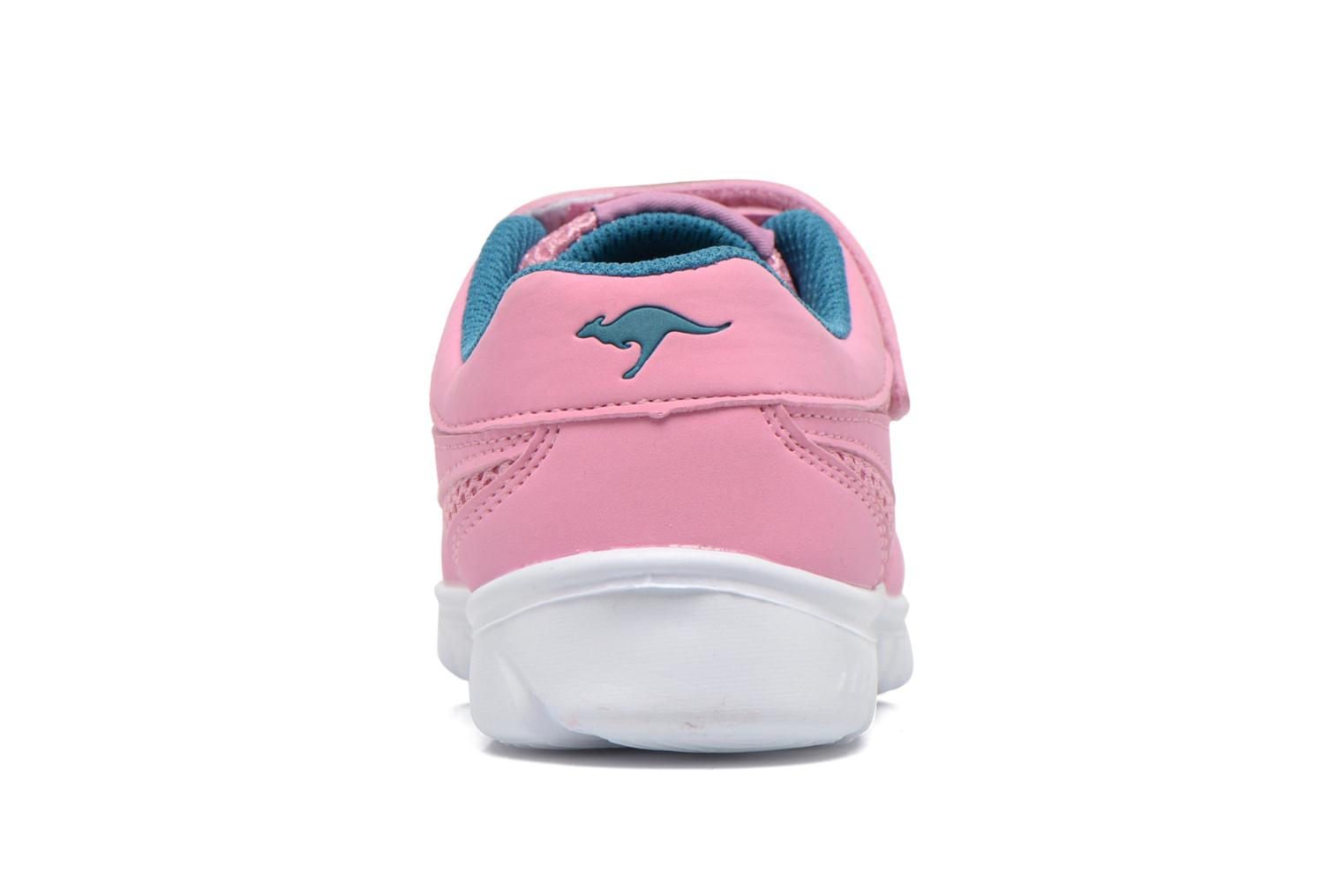 Trainers Kangaroos Inlite 3003B Pink view from the right