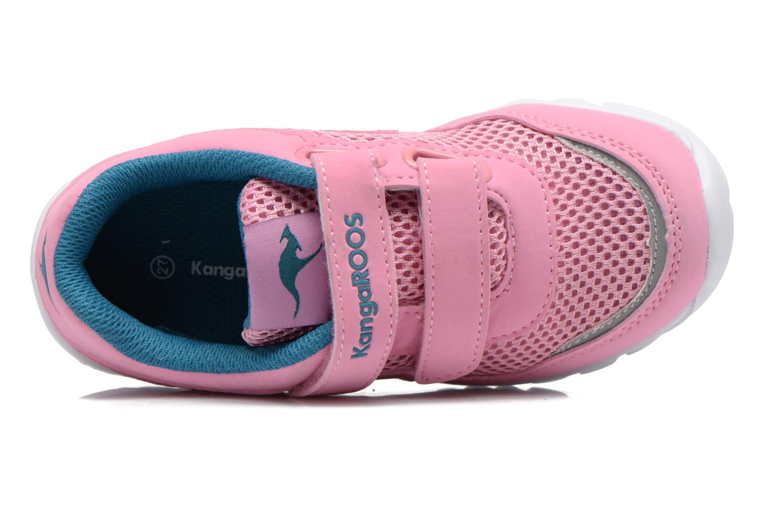 Trainers Kangaroos Inlite 3003B Pink view from the left