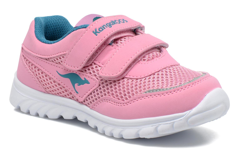 Sneaker Kangaroos Inlite 3003B rosa detaillierte ansicht/modell