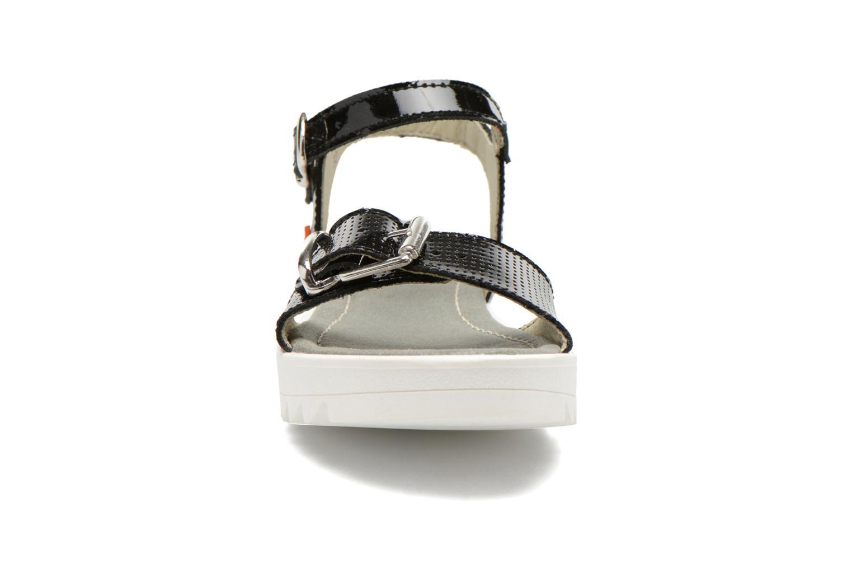 Sandalen Art 4A-322 Atenas schwarz schuhe getragen