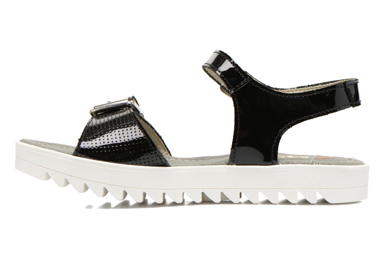 Sandalen Art 4A-322 Atenas schwarz ansicht von vorne