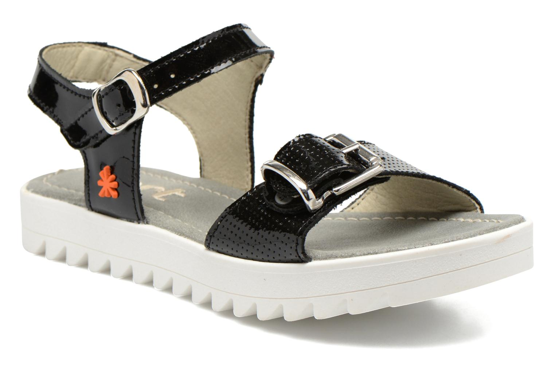 Sandales et nu-pieds Art 4A-322 Atenas Noir vue détail/paire