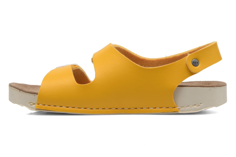 Sandales et nu-pieds Art A433 I Play Jaune vue face