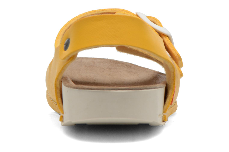 Sandales et nu-pieds Art A433 I Play Jaune vue droite