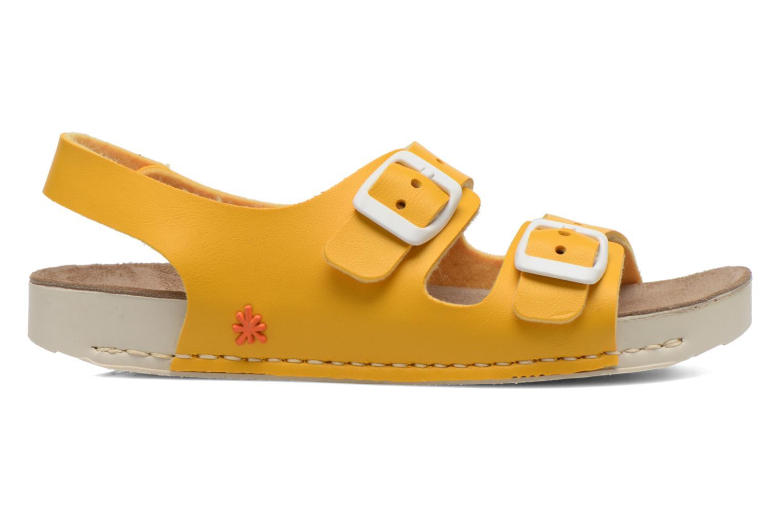 Sandales et nu-pieds Art A433 I Play Jaune vue derrière