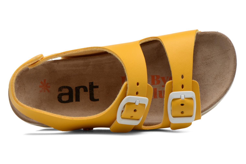 Sandales et nu-pieds Art A433 I Play Jaune vue gauche