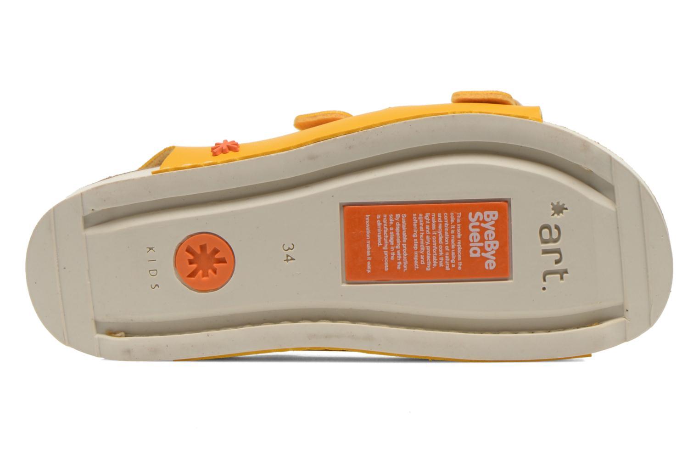 Sandales et nu-pieds Art A433 I Play Jaune vue haut