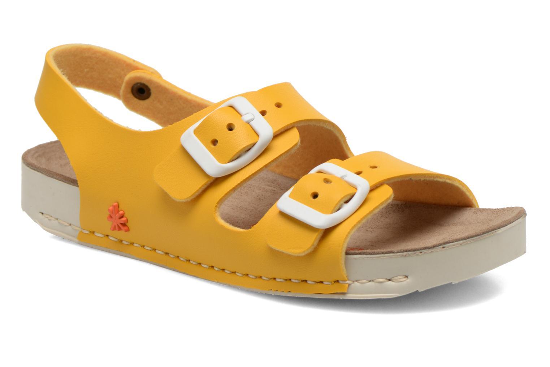 Sandales et nu-pieds Art A433 I Play Jaune vue détail/paire