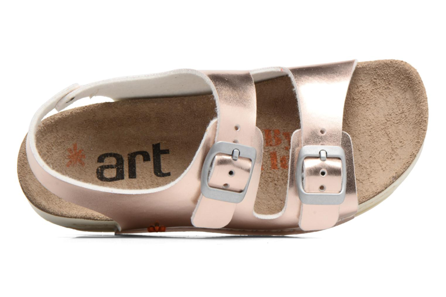Sandals Art A433 I Play Bronze and Gold view from the left