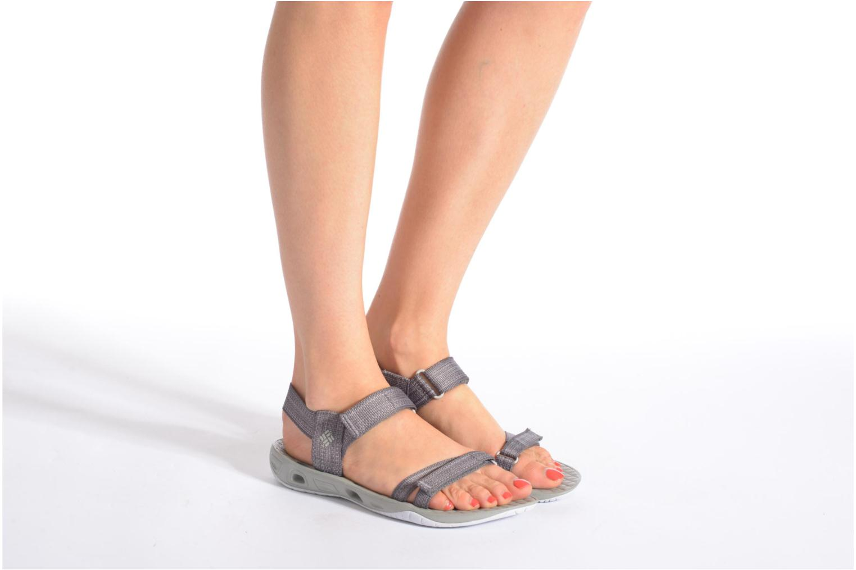 Chaussures de sport Columbia Sunbreeze Vent Avalon Bleu vue bas / vue portée sac