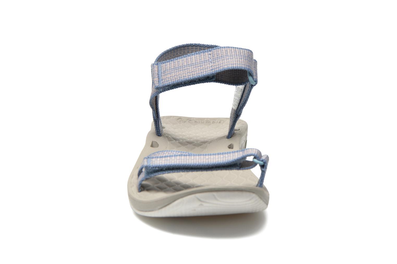 Chaussures de sport Columbia Sunbreeze Vent Avalon Bleu vue portées chaussures