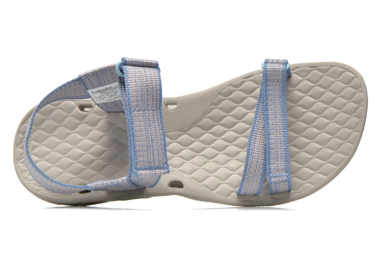 Chaussures de sport Columbia Sunbreeze Vent Avalon Bleu vue gauche