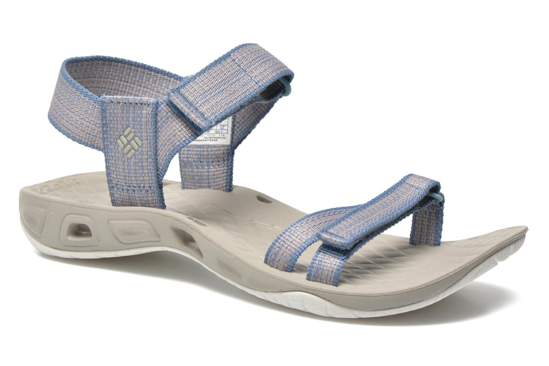 Chaussures de sport Columbia Sunbreeze Vent Avalon Bleu vue détail/paire