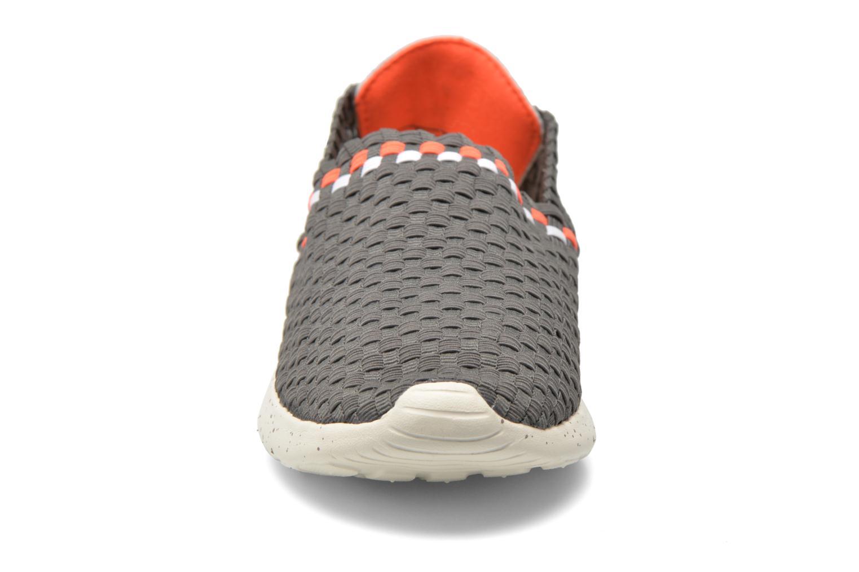Baskets DUDE E-last Kai Gris vue portées chaussures