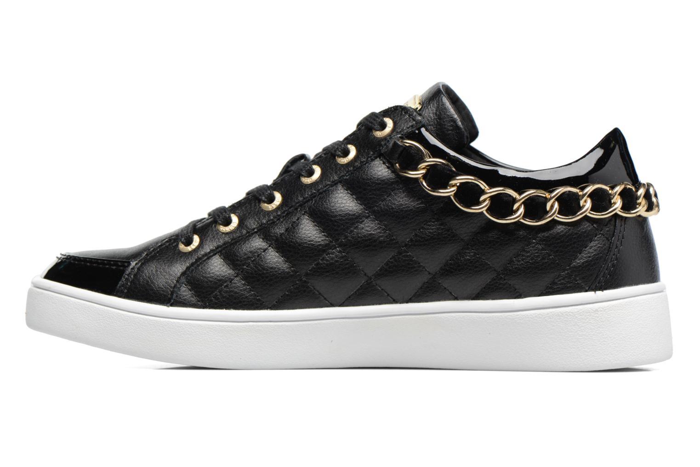 Sneaker Guess Glinna schwarz ansicht von vorne