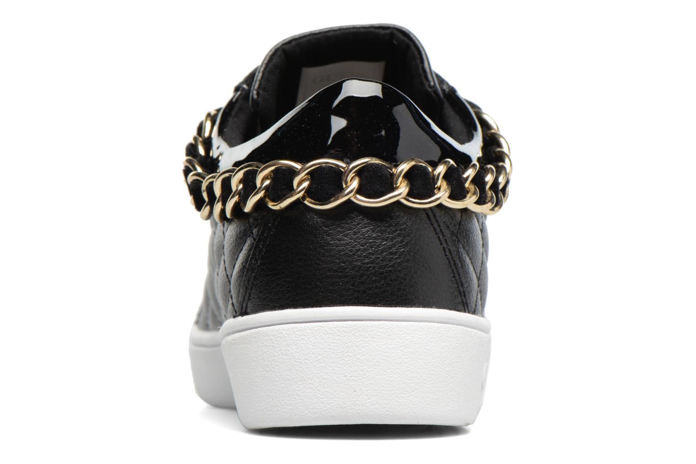 Sneaker Guess Glinna schwarz ansicht von rechts