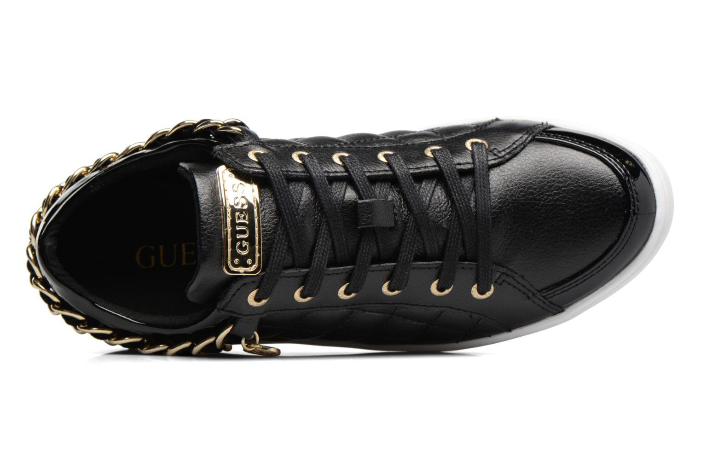 Sneaker Guess Glinna schwarz ansicht von links