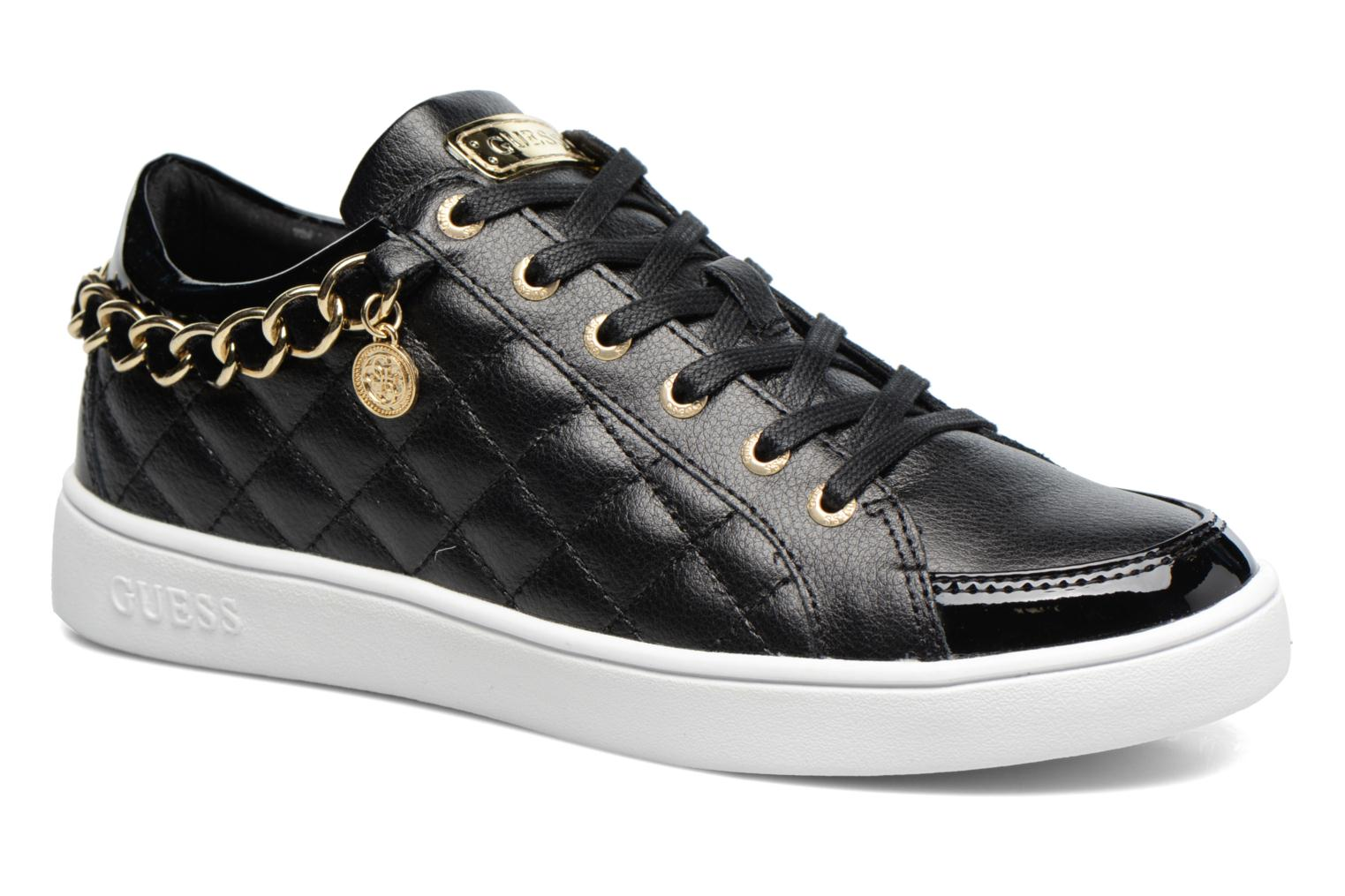 Trainers Guess Glinna Black detailed view/ Pair view