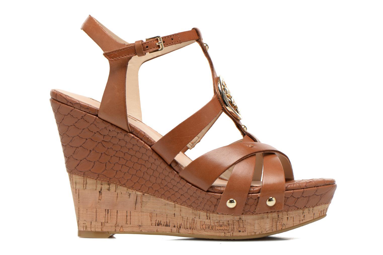 Sandales et nu-pieds Guess Okie Marron vue derrière